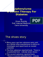 07. Prof. Eman Rushdy Sulphonylurea a Golden Therapy for Diabetes