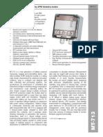 MT 713 Battery Powered Energy Saving GPRS Telemetry Module