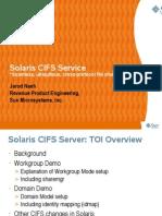 Solaris CIFS Service
