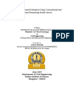 Asphalt Pavement Evaluation Using Conventional and Ground Penetrating Radar Survey