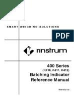 R400-613-151-M02 - indicator manual r420