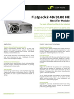 Datasheet Flatpack2 48 v 3100 HE New PDF