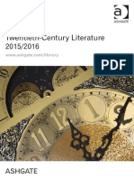Twentieth-Century Literature 2015/2016