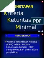 2. Penetapan KKM Versi Revisi