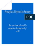 operational strategy