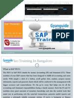 Sap Fico Training in Bangalore