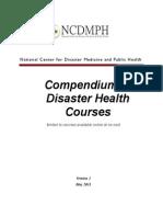 NCDMPH Compendium V1