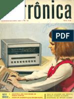 Saber Eletrônica Nº35, Set-Out 1969