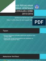Administrasi Perjalanan Dinas Verifikasi Penyelenggara Unbk 2015