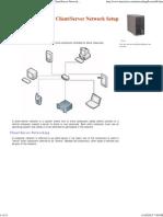 Server Network Setup