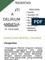 Dementia,Delirium,Amnesia