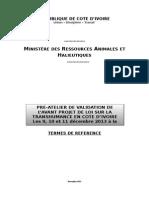 TDR Mini Atelier d'Experts Transhumance - 25nov13 DEF.