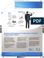 Program Management Professional PgMP Preparation Final