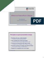 EffectivePPTdesign Handout