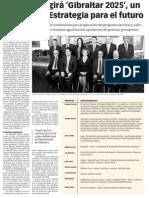 151201 La Verdad CG- Picardo Dirigirá 'Gibraltar 2025', Un Consejo de Estrategia Para El Futuro p.7