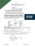 Plain Strain Continuum Mechanics Problem Solving