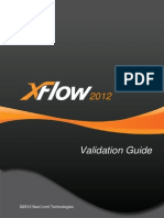 Xflow2012 Validation Guide