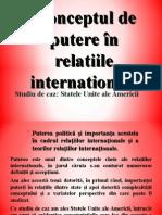 Conceptul de Putere În Relatiile Internationale