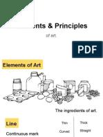 elements   principles of art