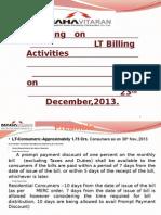Validation of B-30 Training on 23.12.13
