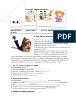 Islcollective Worksheets Preintermediate a2 Elementary School Writing Present Simple Daily Margie 204690283052c850a1068e94 10685805