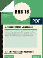 Bab 16 Sistem Informasi Akuntansi
