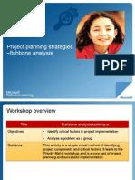 Project Planning Fishbone Analysis
