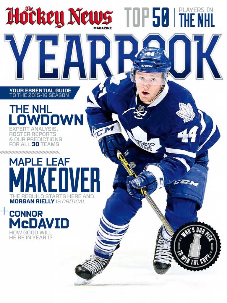 The Hockey News - Yearbook 2015-16  c03761363