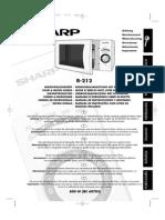 Magnetron Sharp R 212