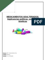 Medicamentos adulterados