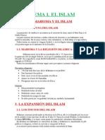 TEMA 2 El Islam