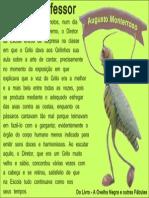 O grilo professor - Augusto Monterrosso
