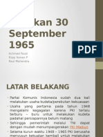G 30 PKI