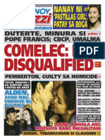 Pinoy Parazzi Vol 8 Issue 144 - December 2 - 3, 2015