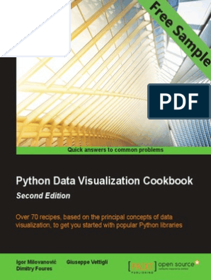 Python Data Visualization Cookbook - Second Edition - Sample