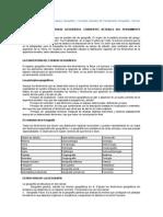 Tema 1. La Concepción del Espacio Geográfico. Corrientes Actuales del Pensamiento Geográfico. Temario Geografía e Historia.