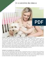 Como Introduzir o Convívio de Cães e Crianças
