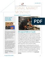 Aboriginal Market Monthly Newsletter - November 2015