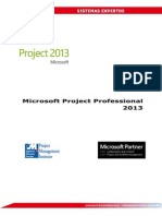 Manual Microsoft Project Professional