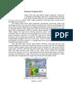 Perkembangan Sistem Informasi Geografis