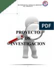Proyecto de investigacion- esquema