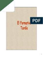 10 y 11 Resumen Formativo Tardío