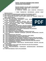 Daftar Spo Umum Instalasi Rehabilitasi Medik