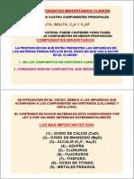 CEMENTOS.tema3.ComponentesMinoritarios.2009.2010