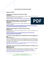 Boletín de Noticias KLR 01DIC2015