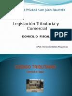 X Domicilio Fiscal-IIParcial
