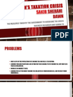 Pakistan's Taxation Crisis