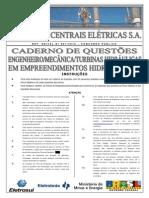 Caderno de Questões de Engenheiro Mecânico Turbinas Hidráulicas