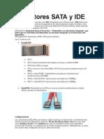 Conectores  SATA y IDE
