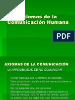 Axiomas de La Comunicación Filo